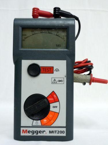 Megger Electrical Amp Test Equipment Ebay