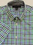 Mens Plaid Shirt XL