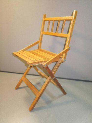 Vintage Childs Folding Chair Ebay