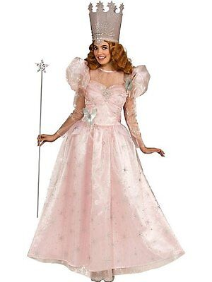 Adult Deluxe Glinda Wizard Of Oz Fairy Godmother the Good Witch Costume Standard - Deluxe Glinda Costume