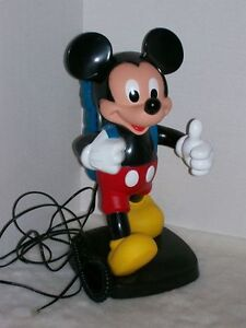 Disney Mickey Mouse Backpack Telephone