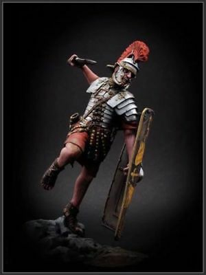 1/24 75mm Resin Figure Model Kit Roman Soldier with Shield Unassambled Unpainted