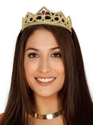 Prinzessin Krone Kostüm Gold Diadem Prinzessin (Kostüm Krone Diadem)