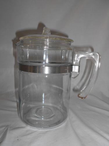 Pyrex Glass Coffee Percolator Pot | eBay