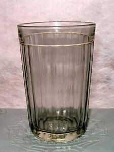 Vintage RUSSIAN SOVIET FACETED GLASS DRINKING for VODKA, WHISKEY or TEA ,