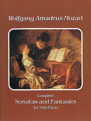 Mozart Complete Sonatas & Fantasies Solo Piano Learn to Play Music Book