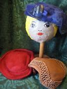 Vintage Hat Lot