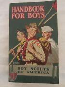 Vintage Boy Scout Books