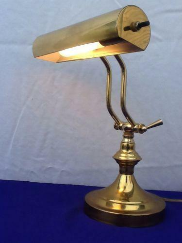 Vintage Brass Piano Lamp EBay
