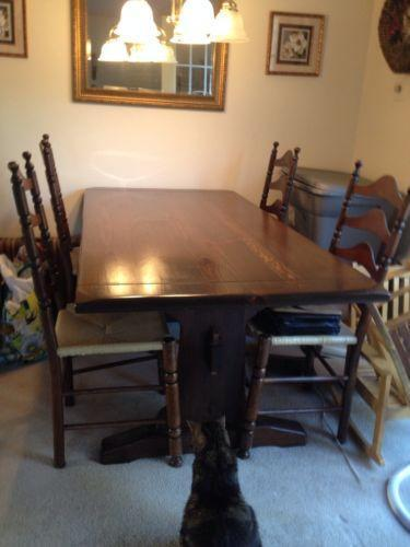 Ethan Allen Dining Table Ebay