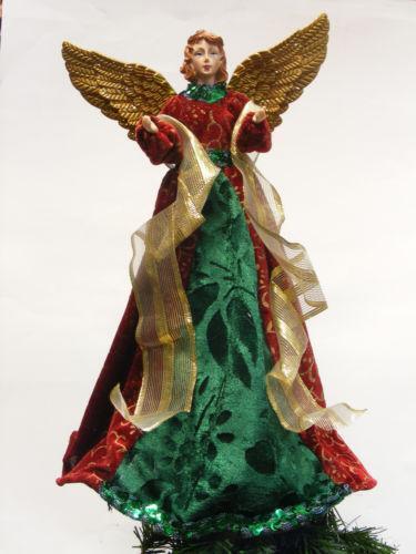 Gold Angel Tree Topper Ebay
