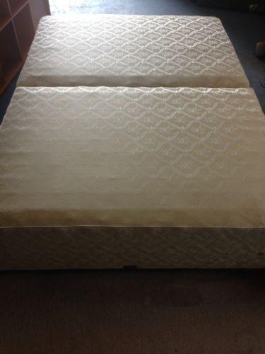 Double divan bed frame ebay for Double divan frame