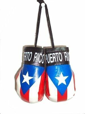 huge discount 7201c 151d3 PUERTO RICO RICAN FLAG HANGING MINI BOXING GLOVES CARS TRUCKS GIFTS  SOUVENIRS