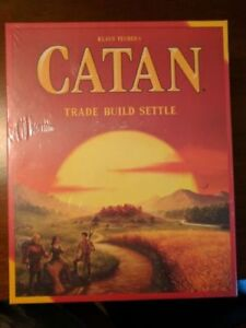 Settlers of Catan 5th Edition BRAND NEW