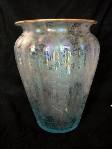 Carnival Glass Vase Ebay