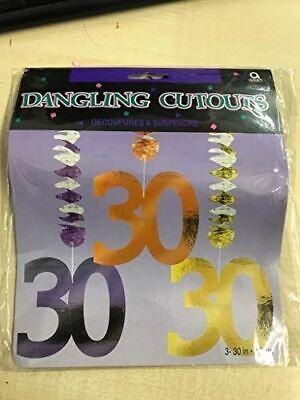 Tri productes Dancing decorations AGE 30