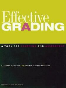 Effective-Grading-A-Tool-for-Learning-and-Assessment-Jossey-Bass-ExLibrary