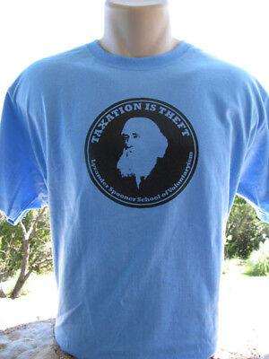 Lysander Spooner T Shirt Libertarian Anarchist Anarchy