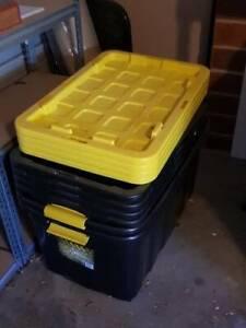 6 x Extra Large Storage Boxes