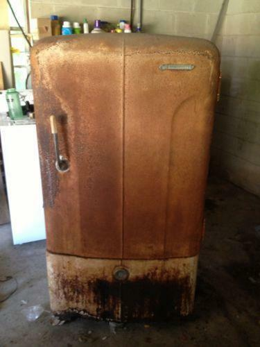 Antique Refrigerator Ebay