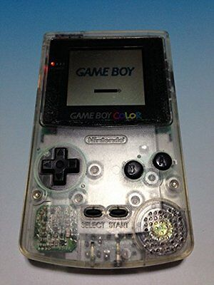 USED NINTENDO GAME BOY Color Clear Japan RARE