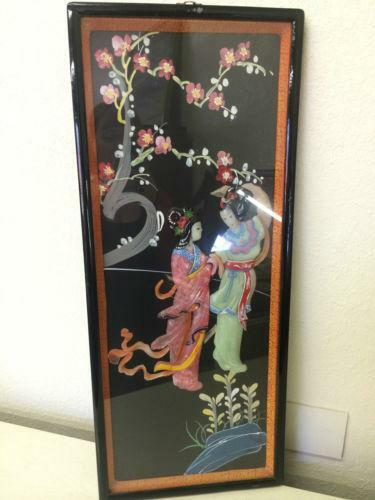 Asian Shadow Box Ebay