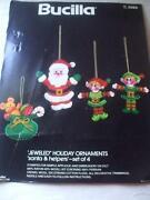 Vintage Felt Ornament Kit