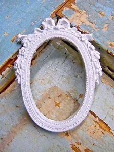 SHABBY n CHIC ARCHITECTURAL BOW FRAME * FURNITURE APPLIQUES  eBay