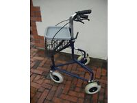 Tri-Wheeled Disability Walker