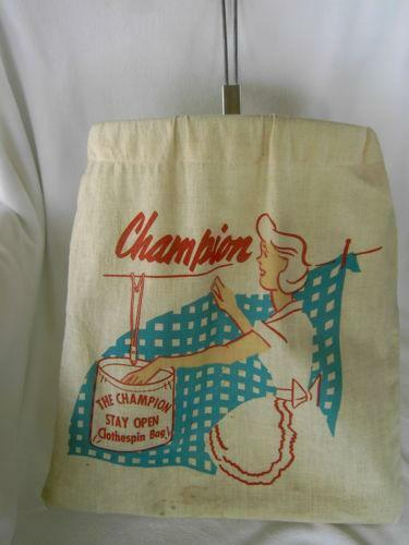 Vintage Laundry Bag Ebay