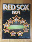 Boston Red Sox Baseball 1971 Vintage Yearbooks