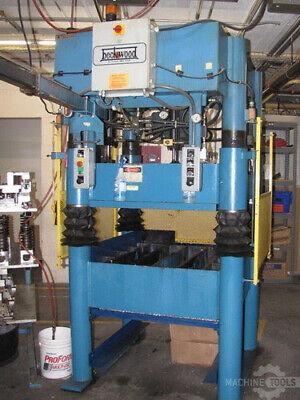 30 Ton Beckwood Four Post Hydraulic Press 10 Stroke 19 Daylight 38 X 42 Bed