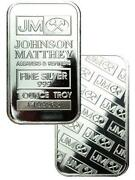 1 oz Silver Bullion Bars