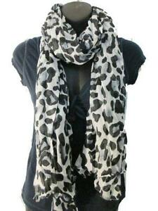Leopard Print Scarf Scarves Amp Wraps Ebay