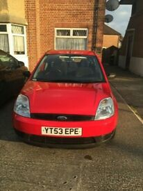 2003 Ford Fiesta Finesse Low Mileage 64000 miles