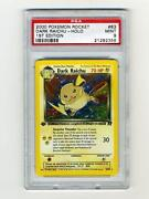 1st Edition Holo Pokemon Cards