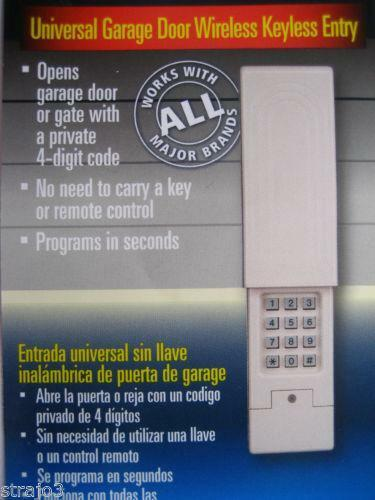 Craftsman Garage Door Opener Remote Keypad Ebay