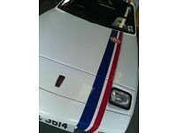 1989 Reliant Scimitar SS1 1600 - White with Gulf Logos and stripes