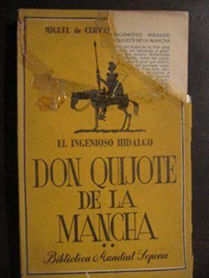 Don Quijote De La Mancha [Paperback] [Jan 01, 1949] El Ingenioso Hidalgo segunda mano  Embacar hacia Argentina