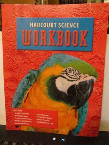 Harcourt Science, Grade 4, Workbook, Teachers Edi