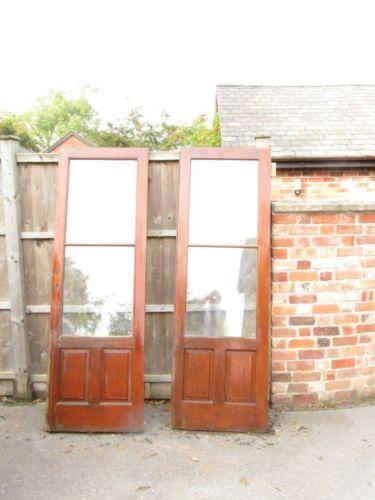 Used wooden patio doors ebay for Used patio doors