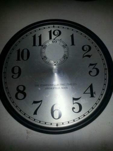 Standard Electric Clock Ebay