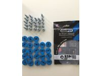 GripIt Plasterboard Fixing Wall Plugs (23 plugs) 25mm can hold up 113 kg