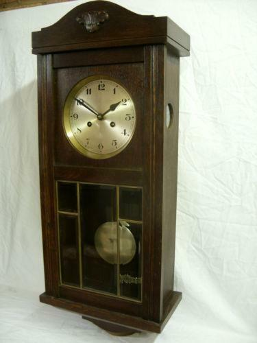 Oak Wall Clock Ebay
