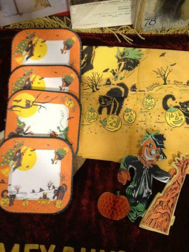 download hd wallpapers vintage halloween decorations ebay