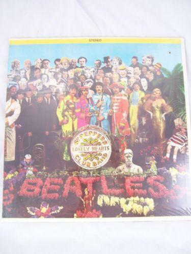 Beatles Sgt Pepper Lp Sealed Ebay