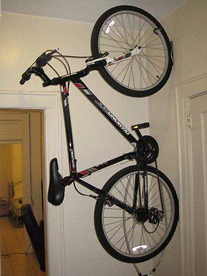 Vertical Bike Storage Rack Wall Mounted Bicycle Hanger Mount
