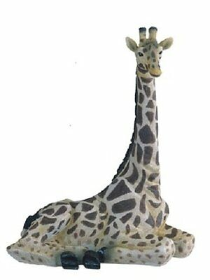 12 25 Inch Giraffe Nature Wild Animal Wilderness Statue Collectible Figure