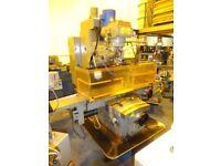 XYZ 4000 CNC 2 AXIS BED MILLING MACHINE