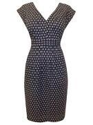 Blue White Spot Dress